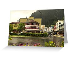 Red Dog Saloon, Juneau Greeting Card