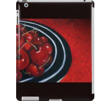 Cherries on Your Plate iPad Case/Skin