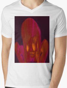 Fire Side 3a Mens V-Neck T-Shirt