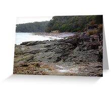 Rocky Shores - Nelson's Beach 2 Greeting Card