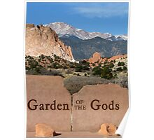 Garden of the Gods Poster