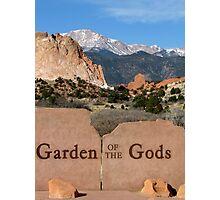 Garden of the Gods Photographic Print