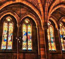 St. John's Windows by Tracie Louise