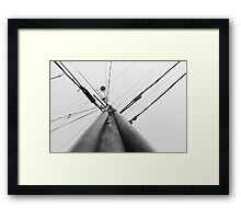 Upwards Framed Print