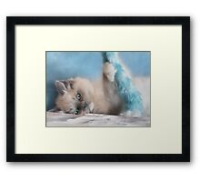 Playtime with Chianti Framed Print