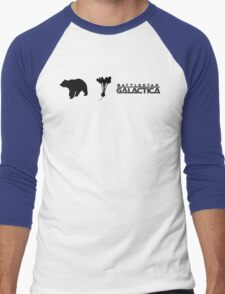 Bears, Beets, Battlestar Galactica Men's Baseball ¾ T-Shirt