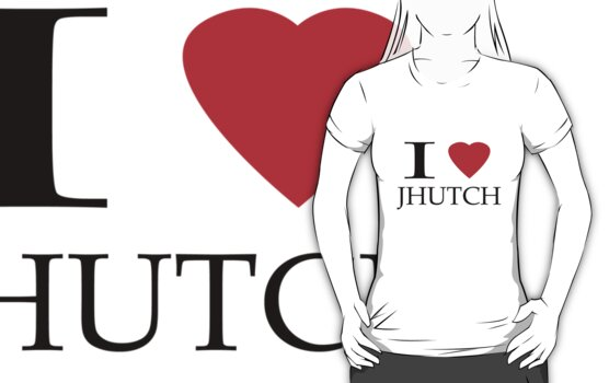 I (heart) Jhutch by Giorgy M.