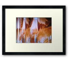 Mating Cry Framed Print