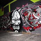 Scary Face Graffiti by PPPhotoArt