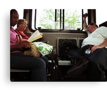 Another Day on the bus Canvas Print