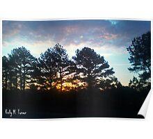Plein Air Horizon Poster