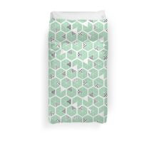 Honeycomb scratches Duvet Cover