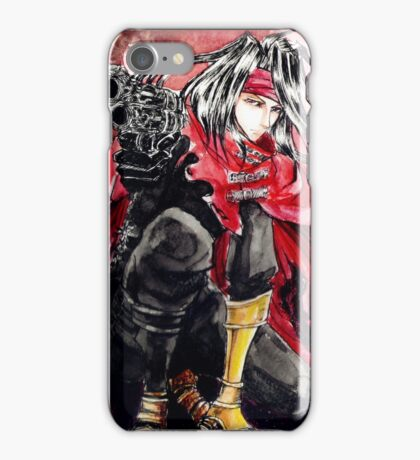 Final Fantasy VII:Vincent Valentine iPhone Case/Skin