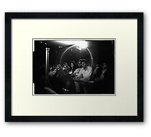 The crowd watching Jimi at the 03:05:69 show at Maple Leaf Gardens Framed Print