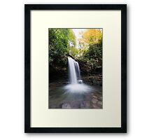 Grotto Falls – Great Smoky Mountains National Park, Tennessee Framed Print