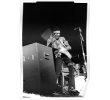Jimi at the 03:05:69 show at Maple Leaf Gardens Poster