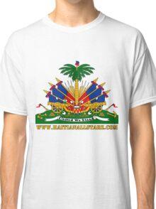 Haitian Coat of Arms  Classic T-Shirt