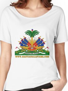 Haitian Coat of Arms  Women's Relaxed Fit T-Shirt