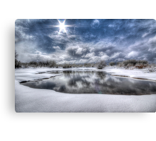 White Bright Canvas Print