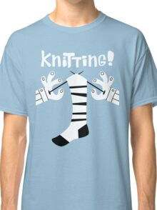 Knitting!  Classic T-Shirt