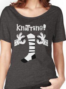 Knitting!  Women's Relaxed Fit T-Shirt
