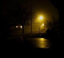 Distant foghorns in a pea soup fog by MarianBendeth