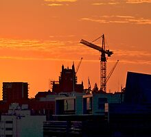 New Day over Newcastle by Doug Miller