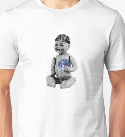 He's got the whole world in his hands Unisex T-Shirt