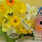 Spring Greetings by Carolyn Wright