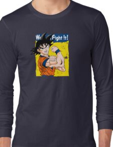 We can fight it! Long Sleeve T-Shirt