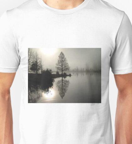 Cypress in the Fog  T-Shirt