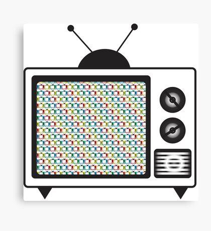 Retro Tv Canvas Print