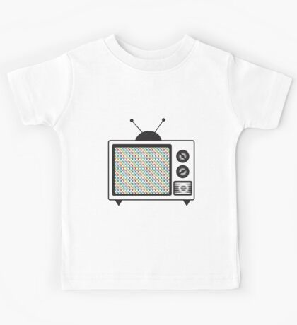 Retro Tv Kids Tee