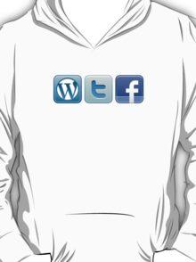 WTF Social Icons T-Shirt