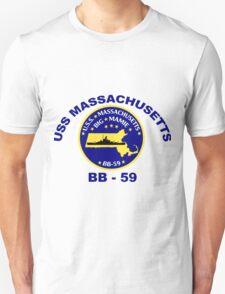 USS Massachusetts (BB-59) Crest T-Shirt
