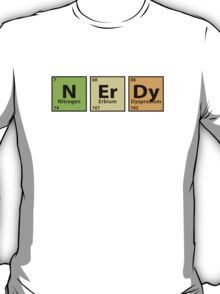 Nerdy  |  Periodic Table T-Shirt