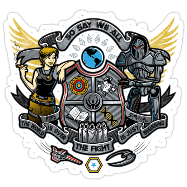 GALACTIC BATTLE CREST by Bamboota