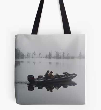 Off to the Bass Bed Tote Bag