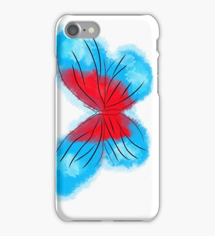 Butterfly colours iPhone Case/Skin
