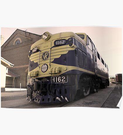 1162 - Steamrail Workshops Newport VIC Poster