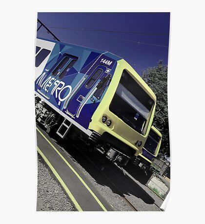 METRO Train - Steamrail Workshops Newport VIC Poster