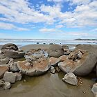 Moeraki Bolders by PeteJoey
