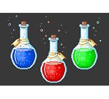 Pixel Potions Photographic Print