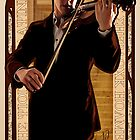 Art Nouveau Sherlock: The Violinist by nero749