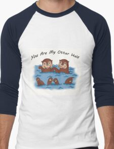 You Are My Otter Half! Men's Baseball ¾ T-Shirt