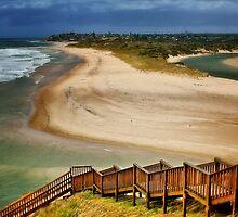 Port Noarlunga, River Mouth, Australia by Ali Brown