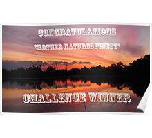 Lagoon Sunset Challenge Poster
