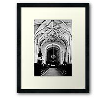 Chateau Chapel Framed Print
