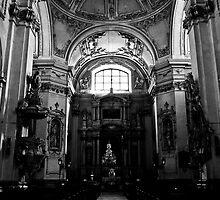 Baroque church by Ondřej Smolka