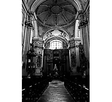 Baroque church Photographic Print
